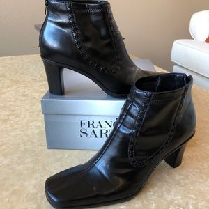 Franco Sarto Napa Leather Boots Excellent Cond.